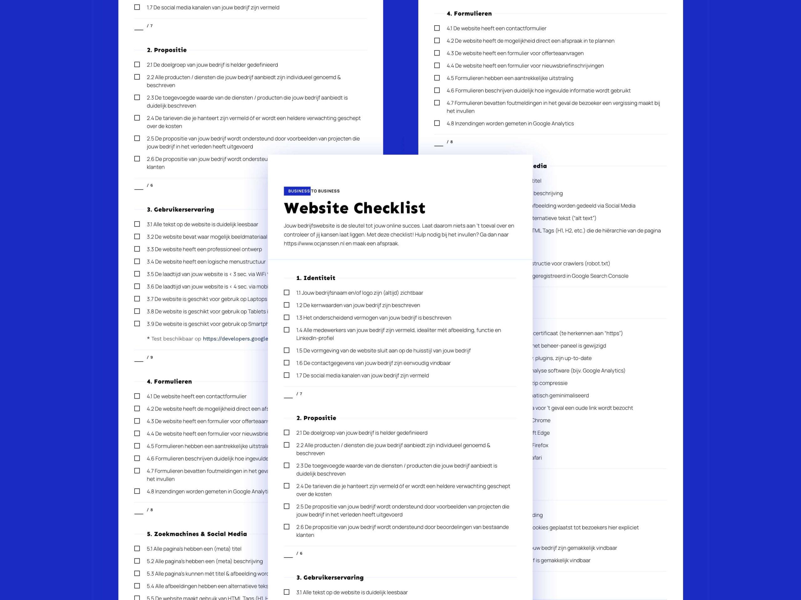 b2b-website-checklist